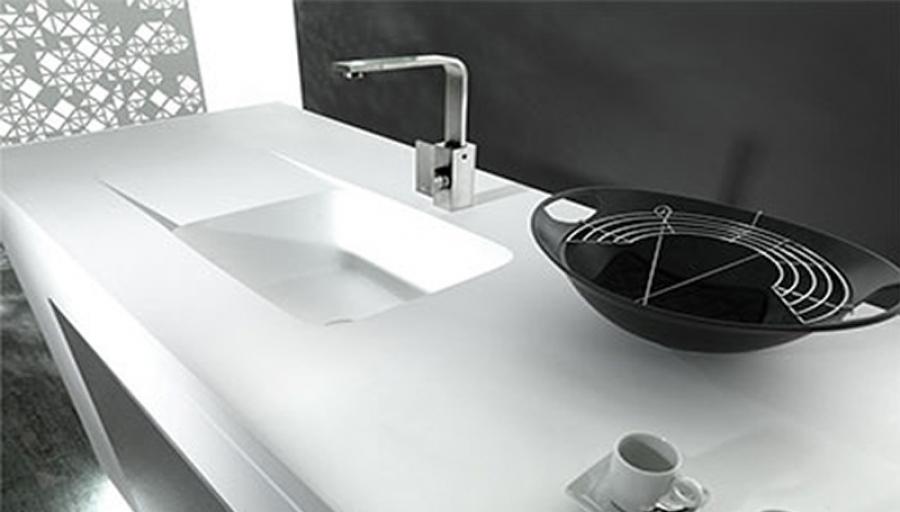 Vasche Da Bagno Porcelanosa Prezzi : Krion by porcelanosa componenti stampati per cucina e bagno